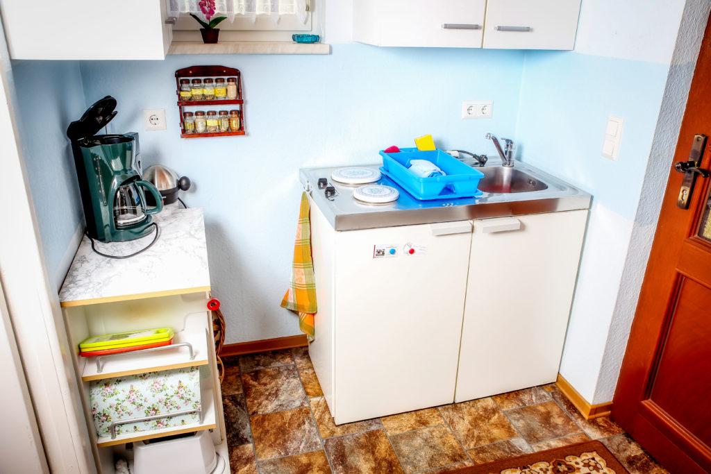Unterkunft in Neuruppin mit Küche
